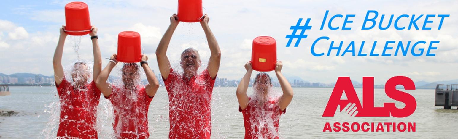Ice Bucket Challenge Sweeps China