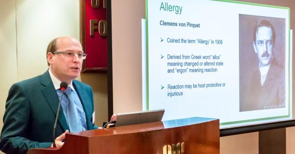 Nigel Abraham, Functional Medicine expert gives keynote speech on food and gluten intolerance