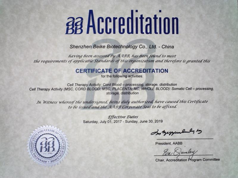 AABB-certification