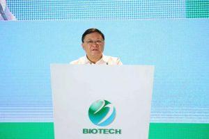 Picture of Wang Weizhong speaking